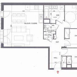 Appartement 4 pièces Metz-Tessy